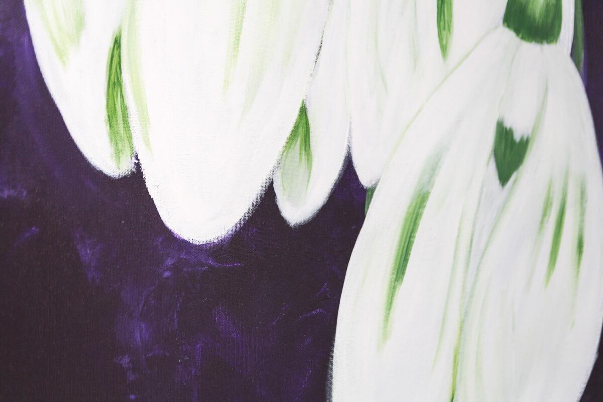 M. Jacobs Schilderijen: Sneeuwklokjes