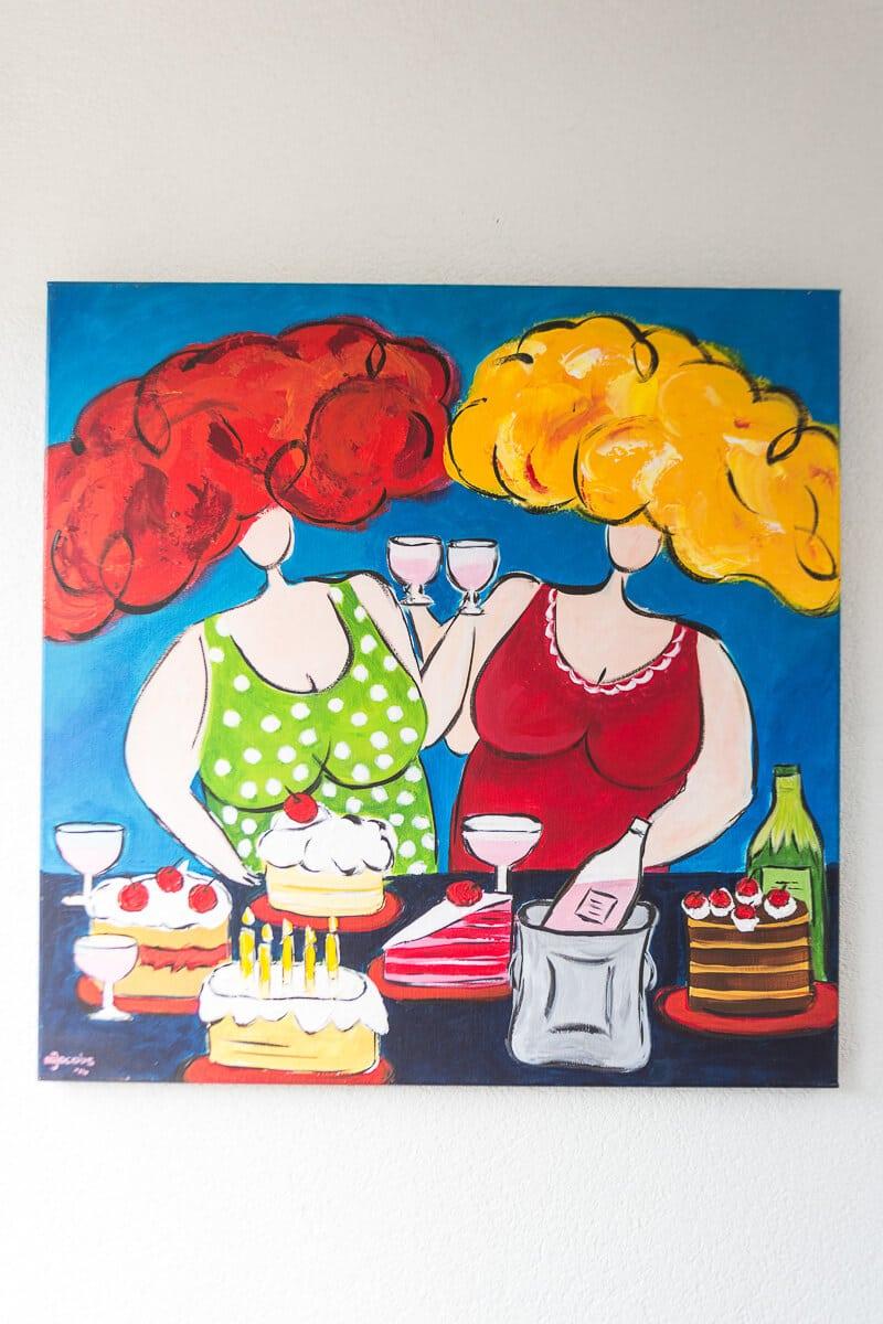 M. Jacobs Schilderijen: Dames van het goede leven