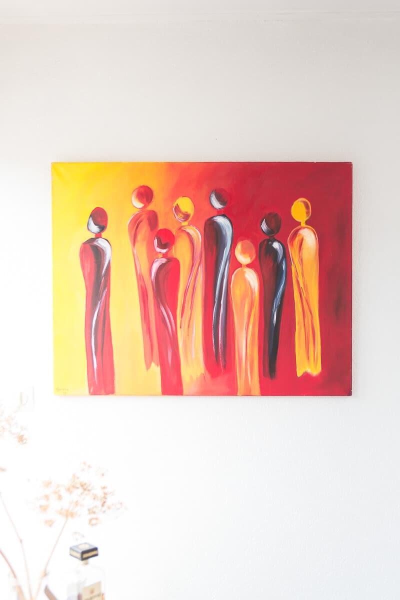 M. Jacobs Schilderijen: People