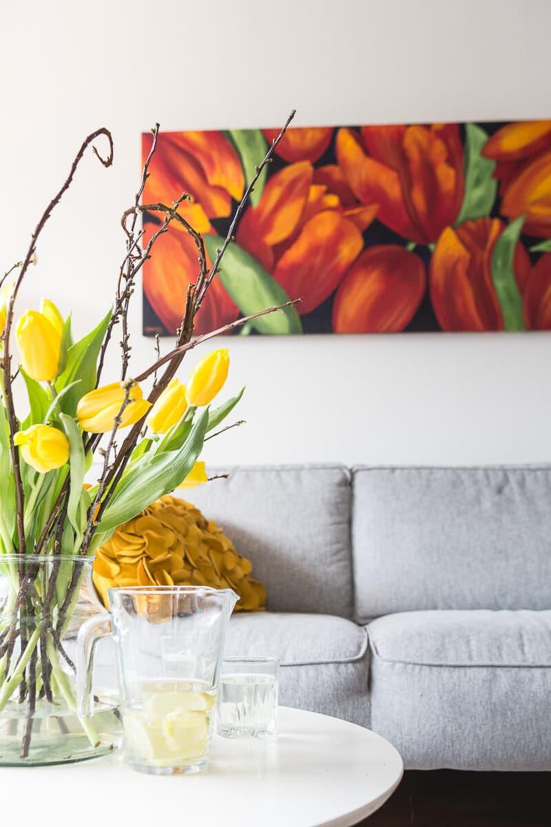 M. Jacobs Schilderijen: Tulpen uit Roosendaal