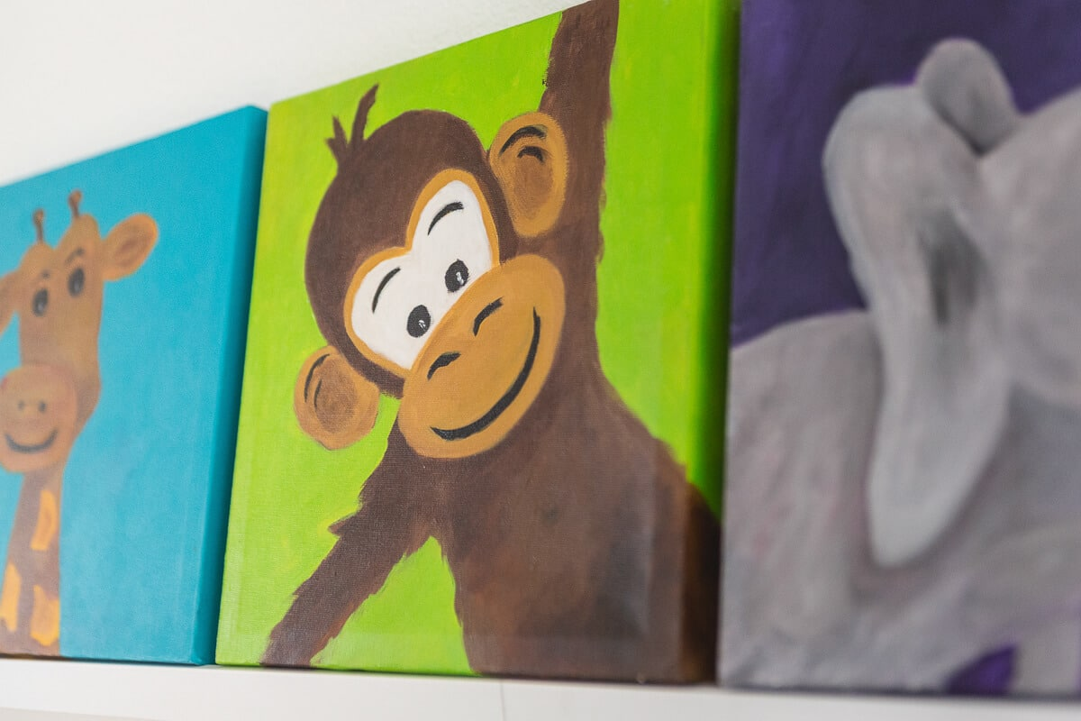 M. Jacobs Schilderijen: Safari