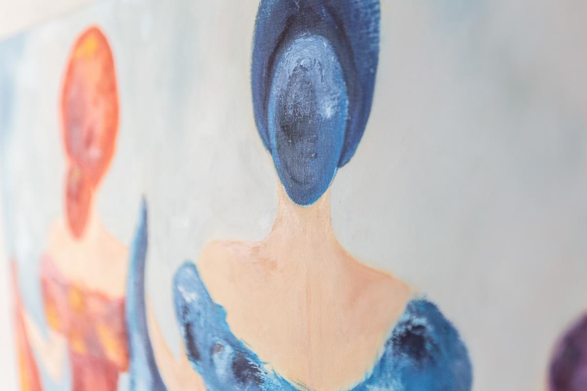 M. Jacobs Schilderij: Dancing Queens