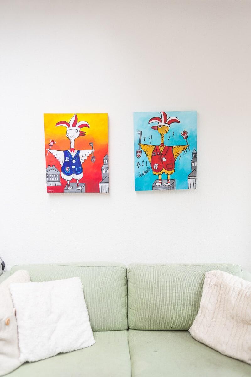 M. Jacobs Schilderijen: Tullepetaontjes