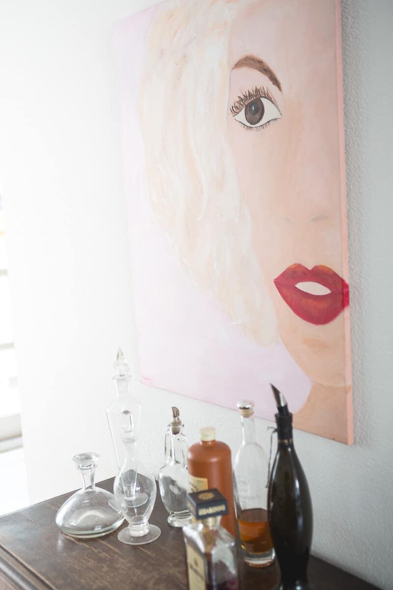 M. Jacobs Schilderijen: Red Lips