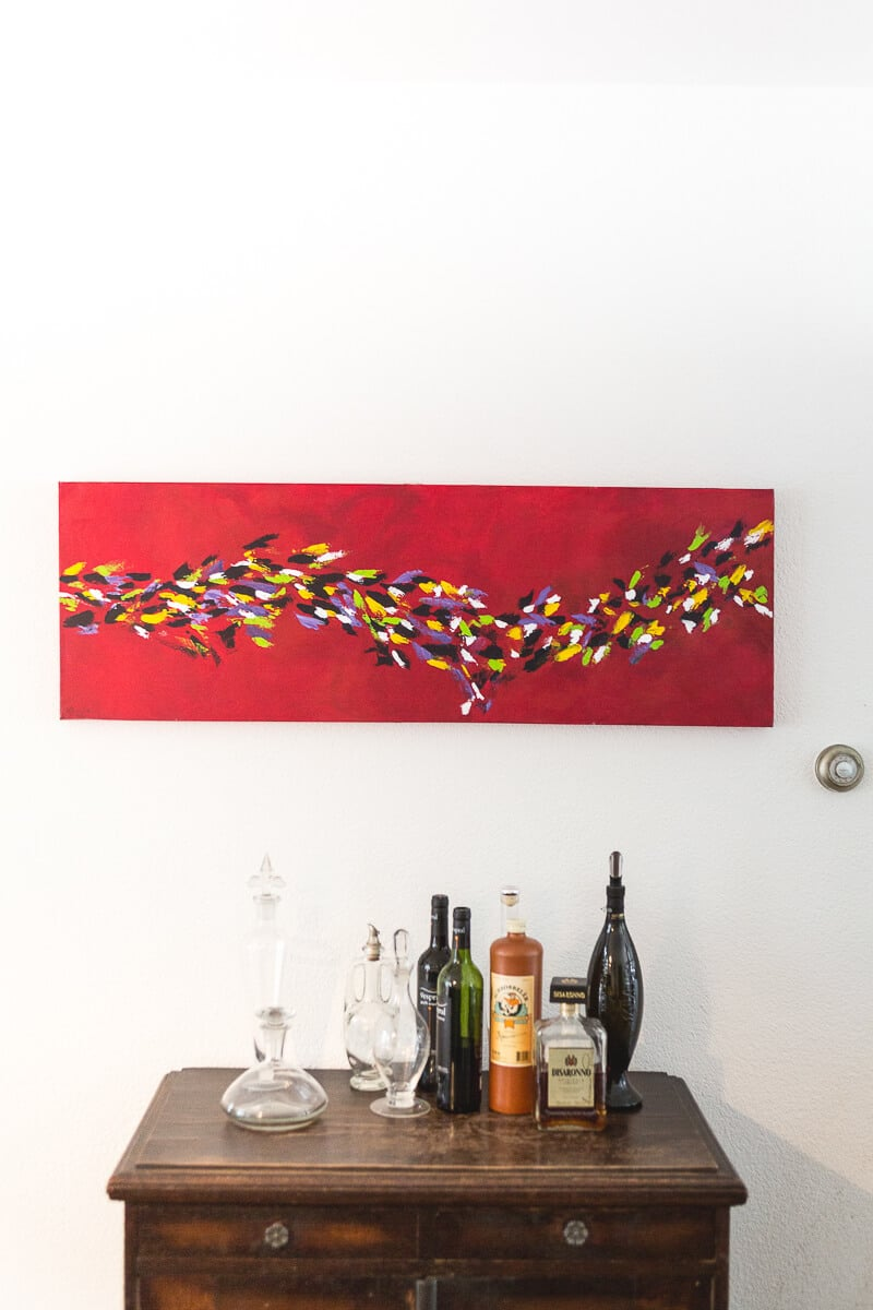 M. Jacobs Schilderij: Eindeloos