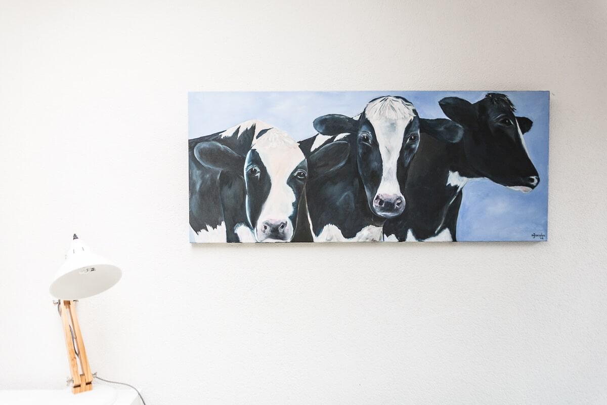 M. Jacobs Schilderijen: 3 op een rij