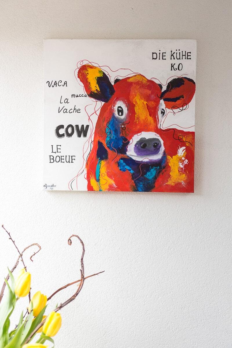 M. Jacobs Schilderijen: Cow