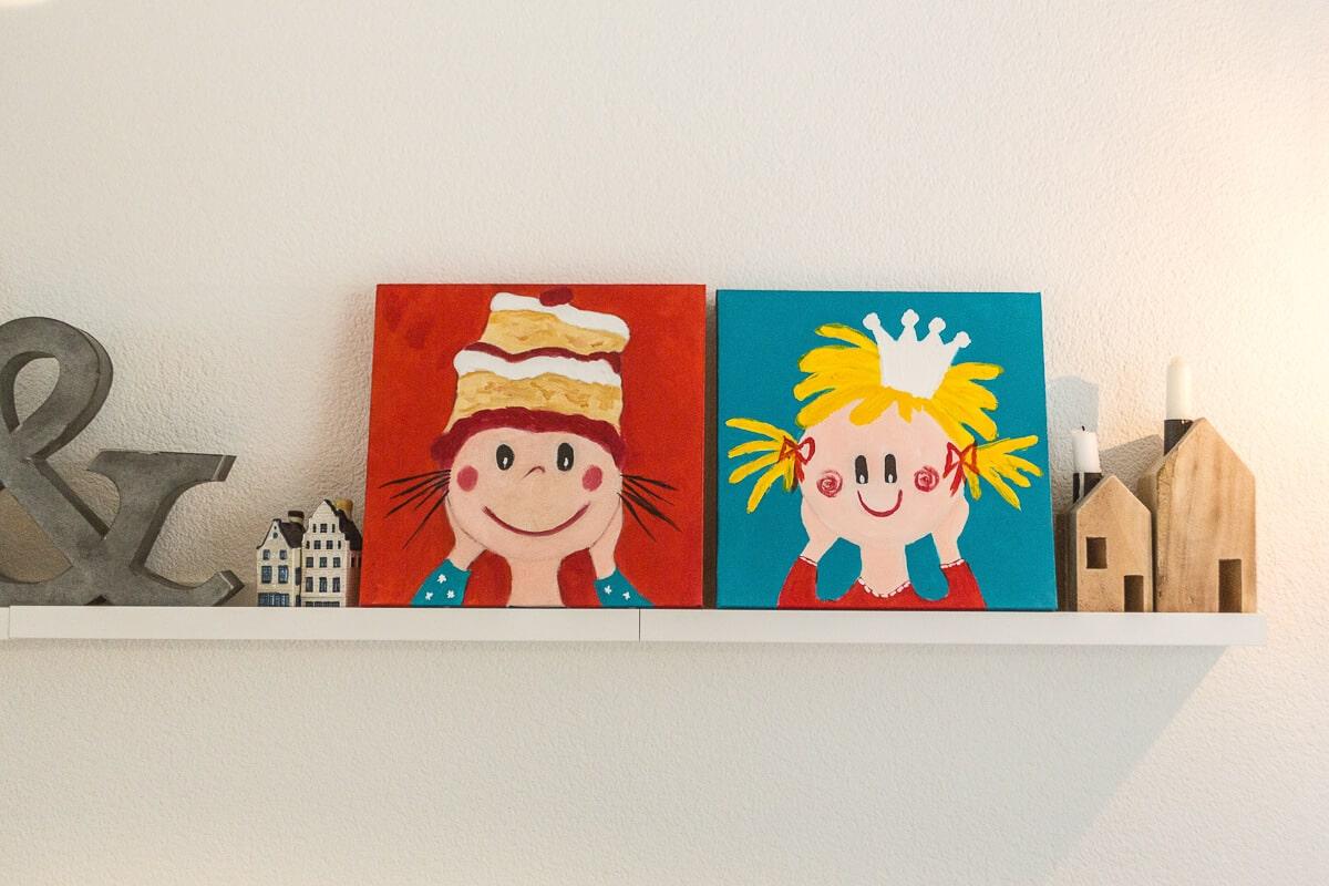 M. Jacobs Schilderijen: Zusjes