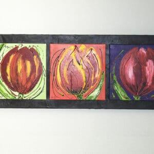 Schilderij Tulpen uit Tilburg