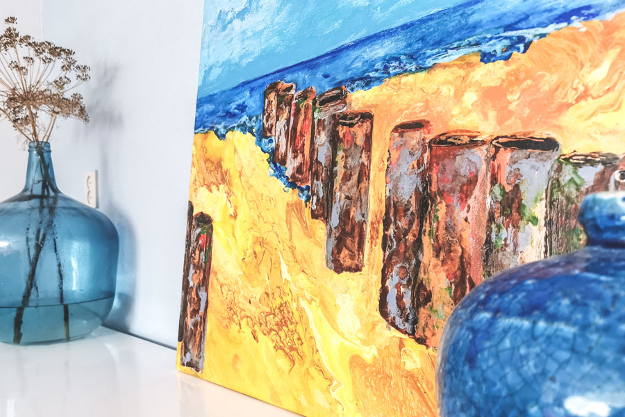 Schilderij Eb of Vloed